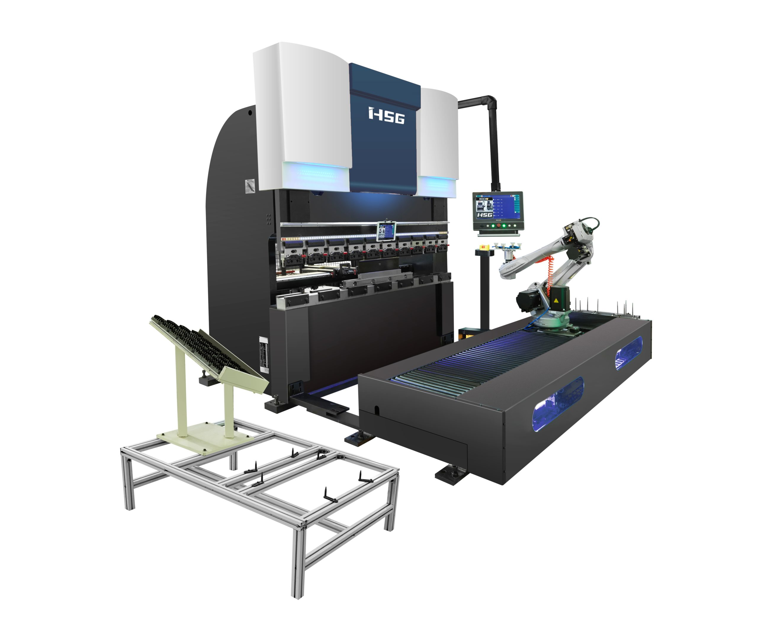 HSG-Pressbrake-with-Robot-2-scaled